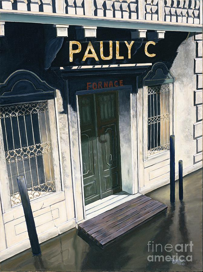 European Painting - Pauly C. Fornache by Jiji Lee