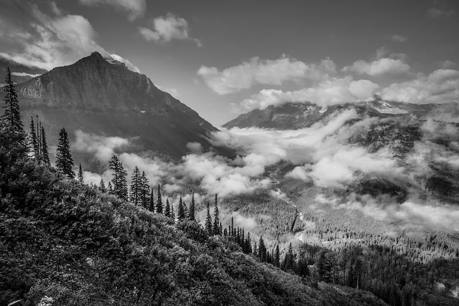 Glacier National Park Photograph - Pause To Wonder by Adam Mateo Fierro