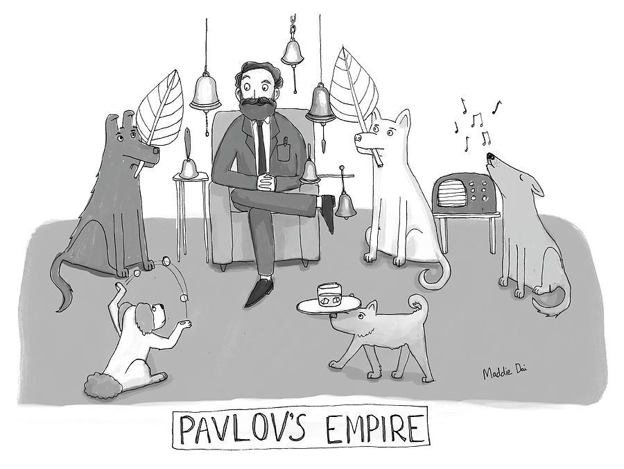 Pavlovs Empire Drawing by Maddie Dai