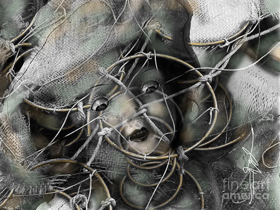 Spooky Photograph - Pavor Nocturnus by Bob Salo