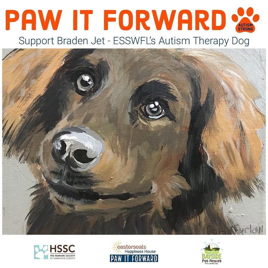 Paw it Forward for Braden Jet by Patty F