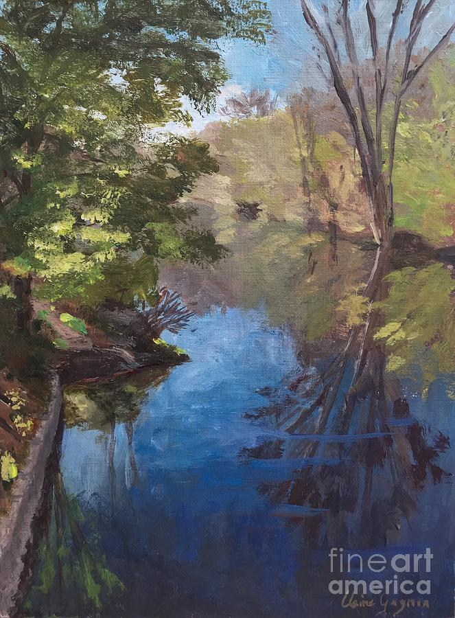 Pawtucket Canal by Claire Gagnon
