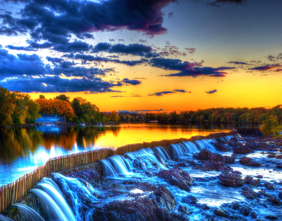 Pawtucket Falls 8354 Photograph