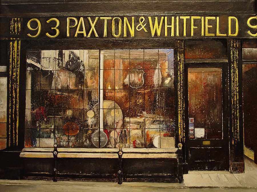 Paxton Painting - Paxton Whitfield .london by Tomas Castano