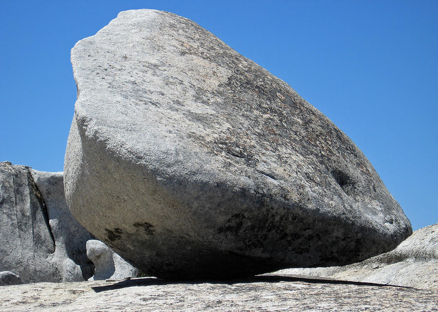 Boulder Photograph - Pay The Stone - Bald Rock 2016 by James Warren