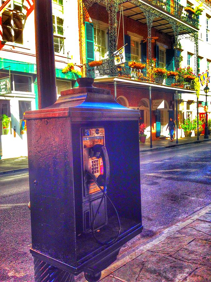 Payphone On Chartes Photograph By Mark Pritchard