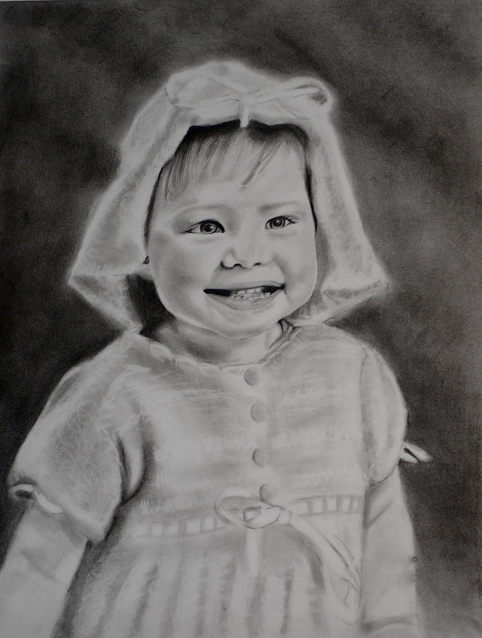 Pencil Drawing Drawing - Payton by Cristina Sofineti