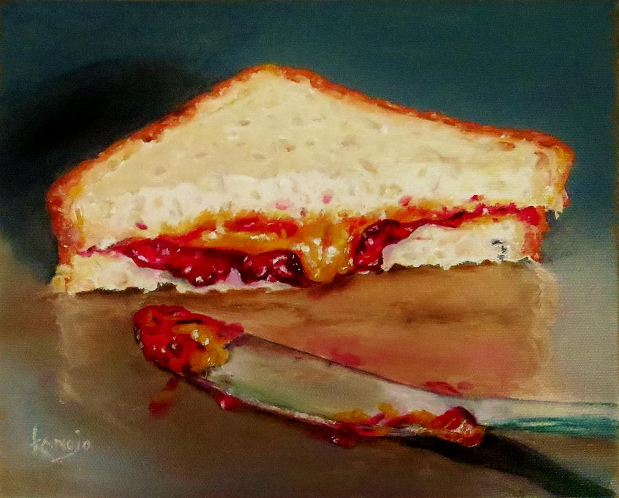 Contemporary Still Life Painting - Pbandj Aka Sometimes Dinner by Wendy Winbeckler