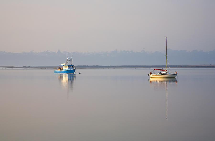 Tasmania Photograph - Peace At Anchor by Mike  Dawson
