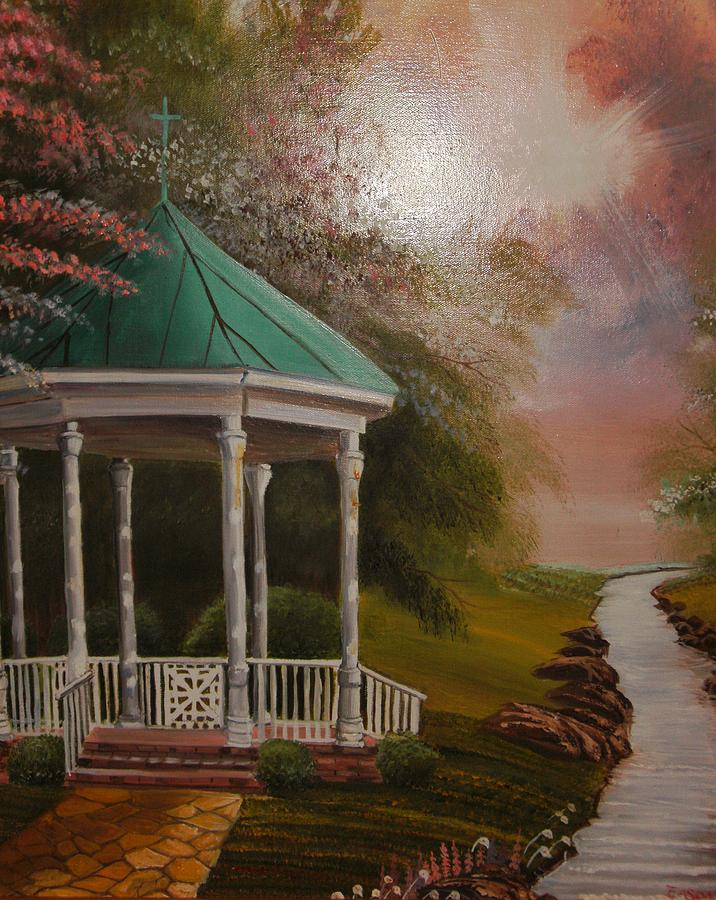 Landscape Painting - Peace Be Still by Scott Easom