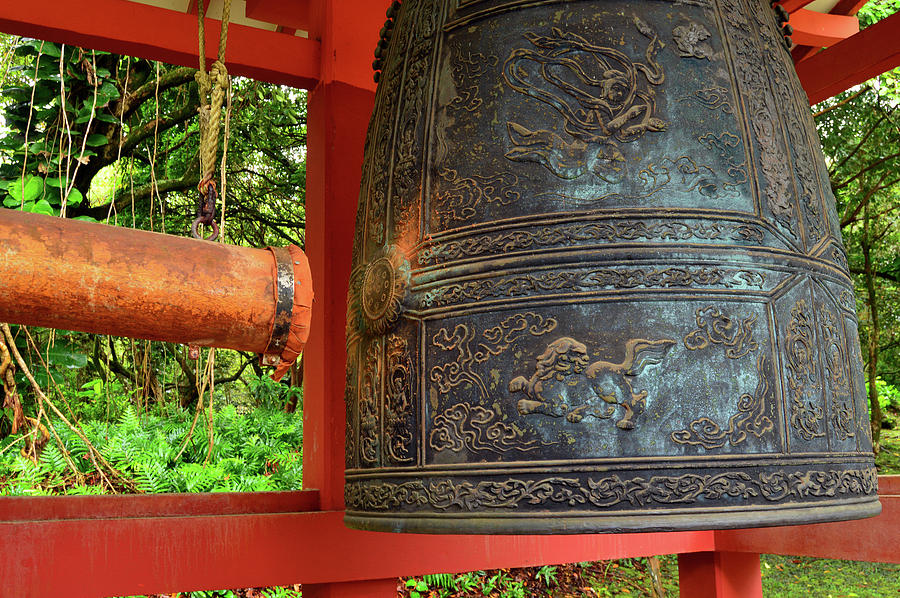 Valley Photograph - Peace Bell by James Kirkikis