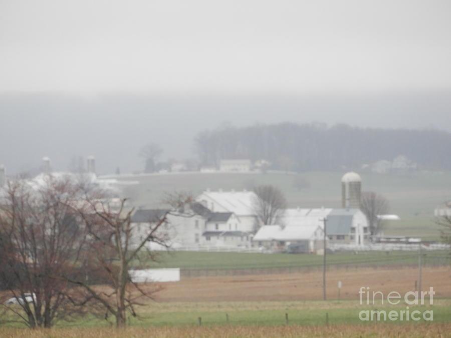 Amish Photograph - Peace Blankets The Farmland by Christine Clark