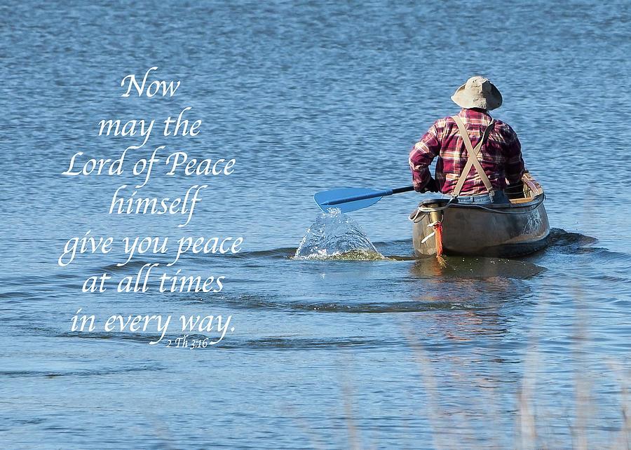 Peace Photograph - Peace by Cheryl Birkhead