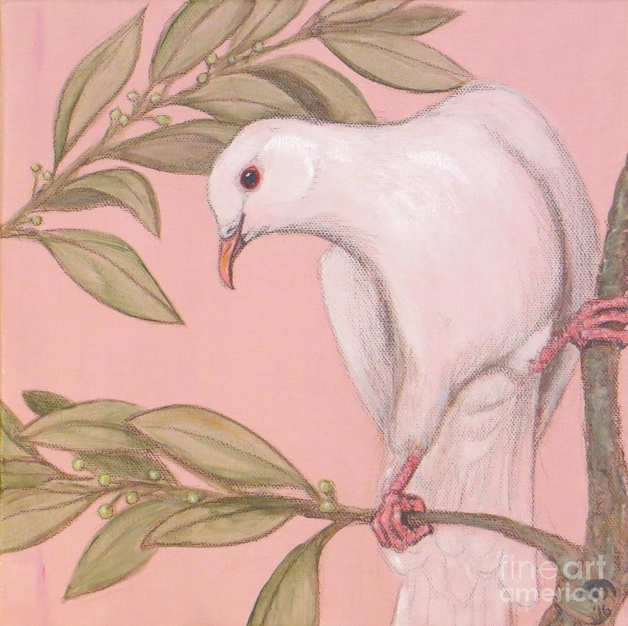 Peace Dove One Painting
