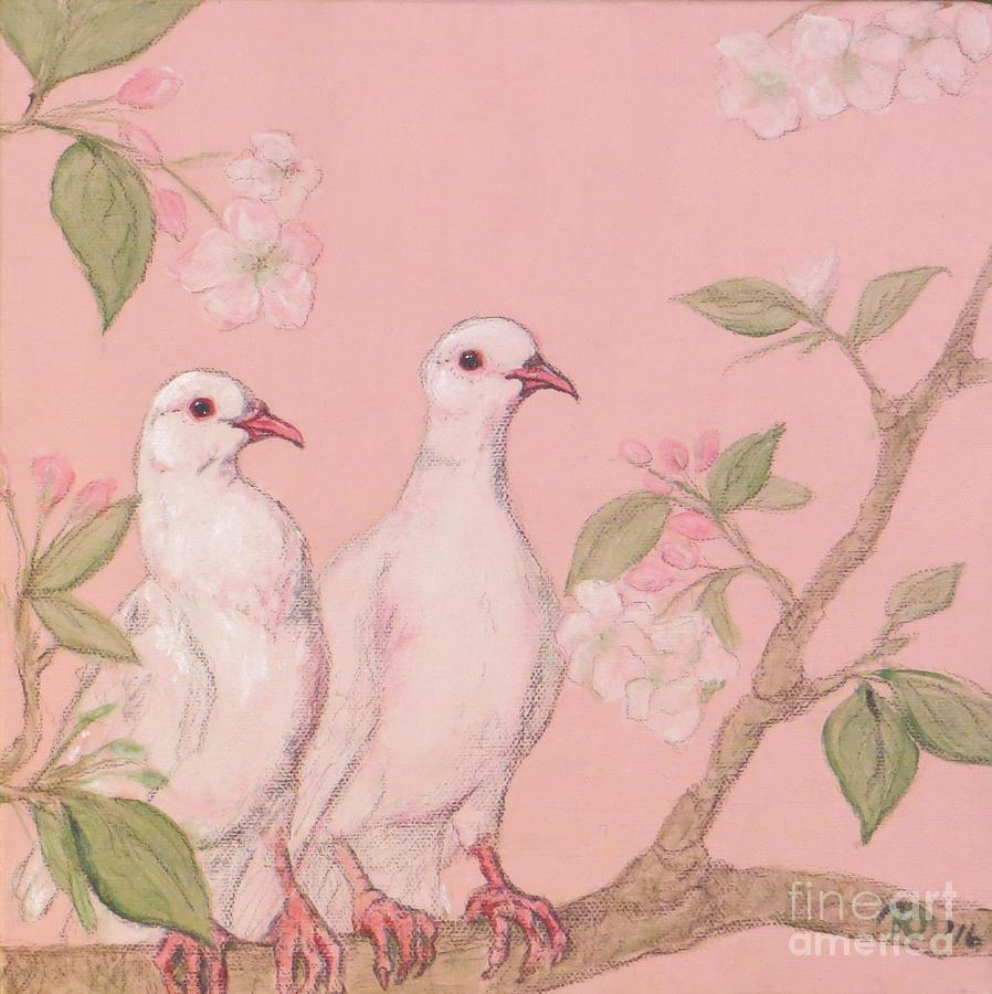 Peace Doves Pairing Painting