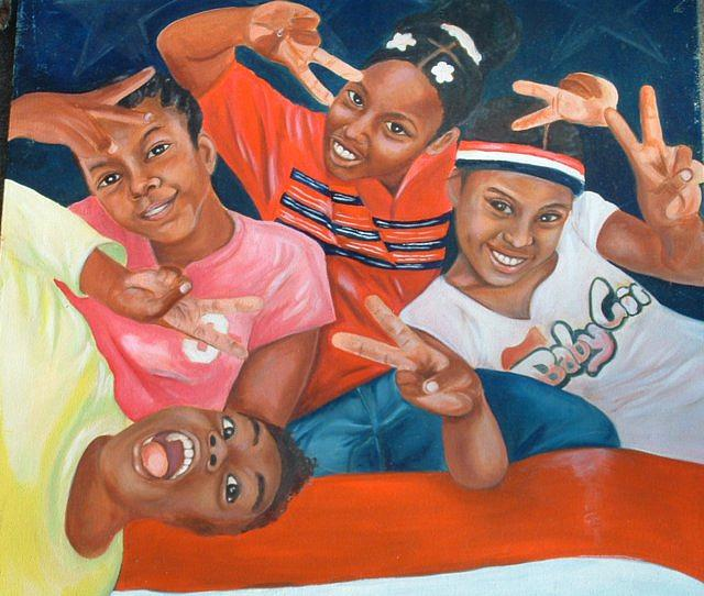 Peace Painting - Peace by Gwendolyn Frazier