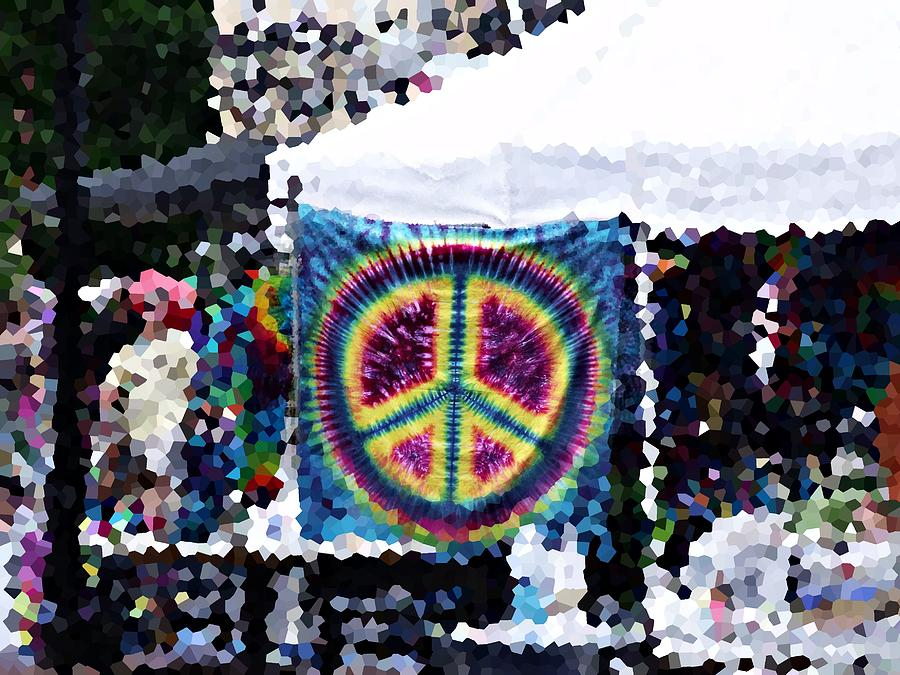 Arts Festival Photograph - Peace In The Streets by Steve Cochran