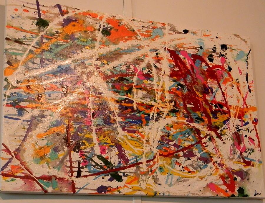 Peace Painting by Jennifer  Krawiec