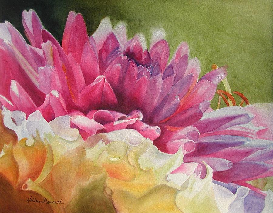 Watercolor Painting - Peace by Kathy Nesseth
