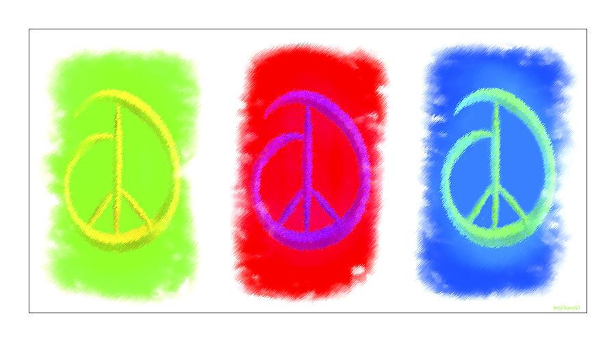 Peace Digital Art