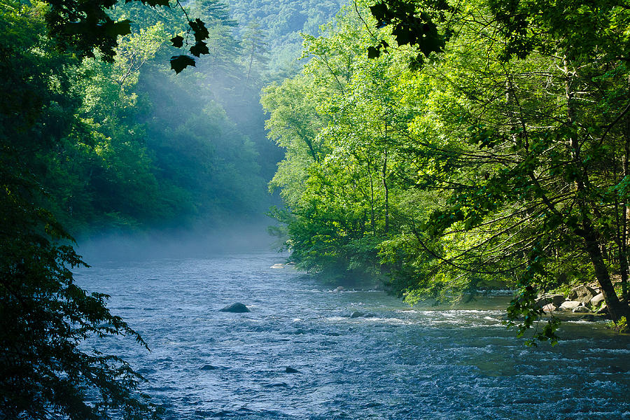 Great Smoky Mountains Photograph - Peace by Kristina Plaas