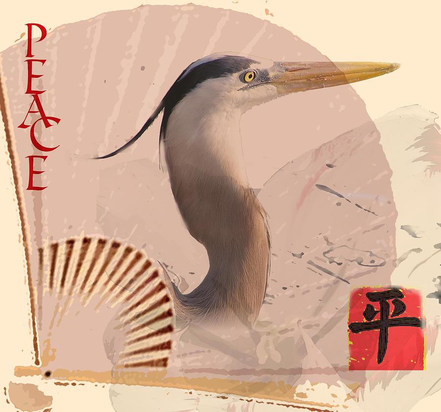 Peace Digital Art - Peace by Linda Tenenbaum