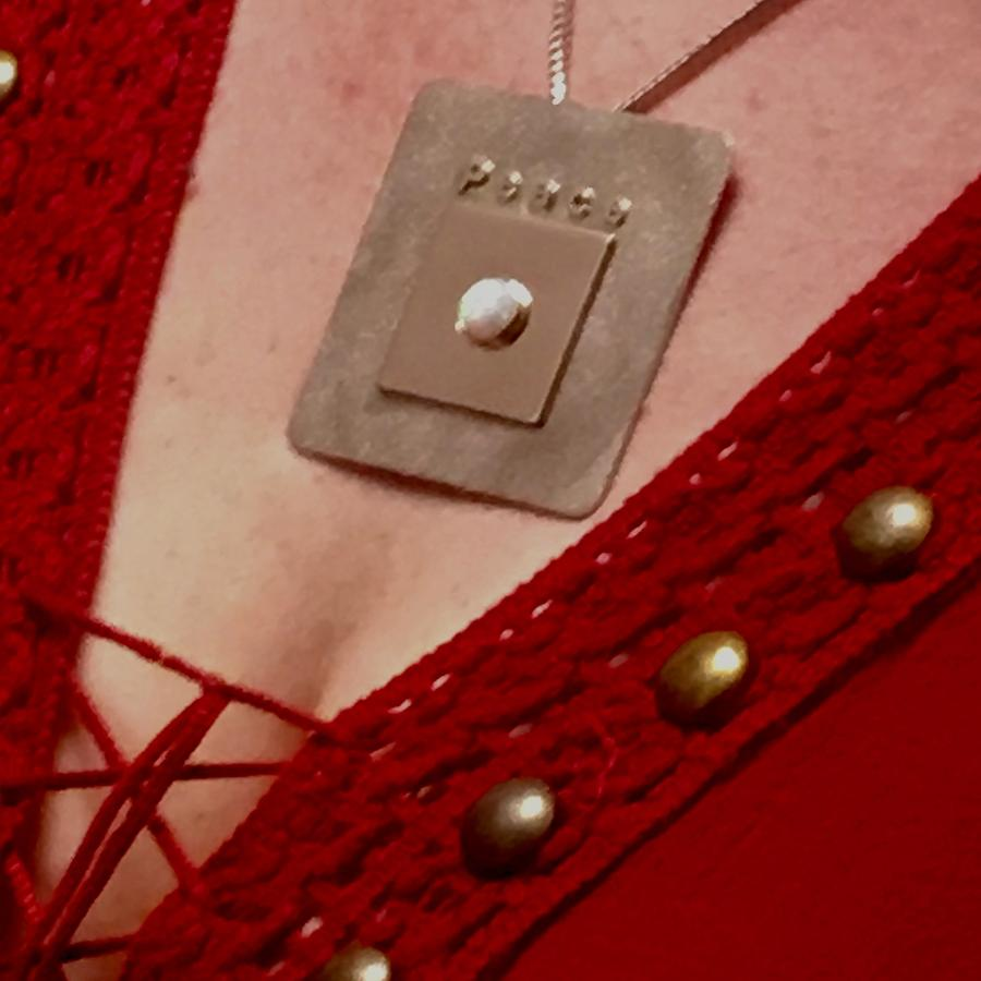 Jewelry Photograph - Peace Medallion by Jack Eadon