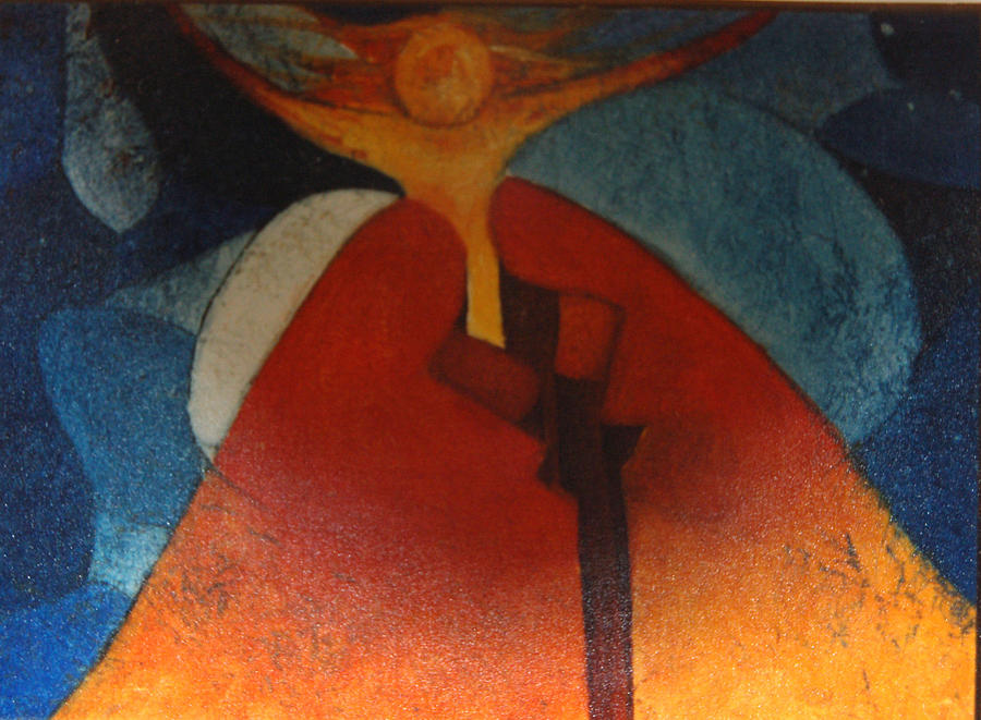 Peace Of The Sexes Painting by Blima Efraim