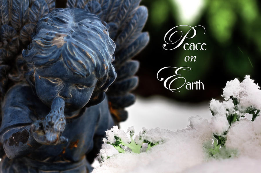 Peace on Earth Angel by Shelley Neff