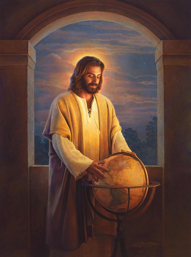 Jesus Painting - Peace on Earth by Greg Olsen