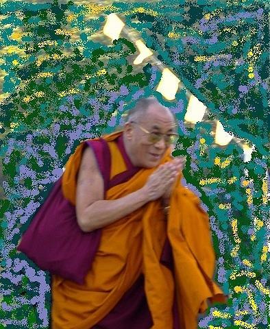 Dalai Lama Photograph - Peace Personified by Brenda Pressnall