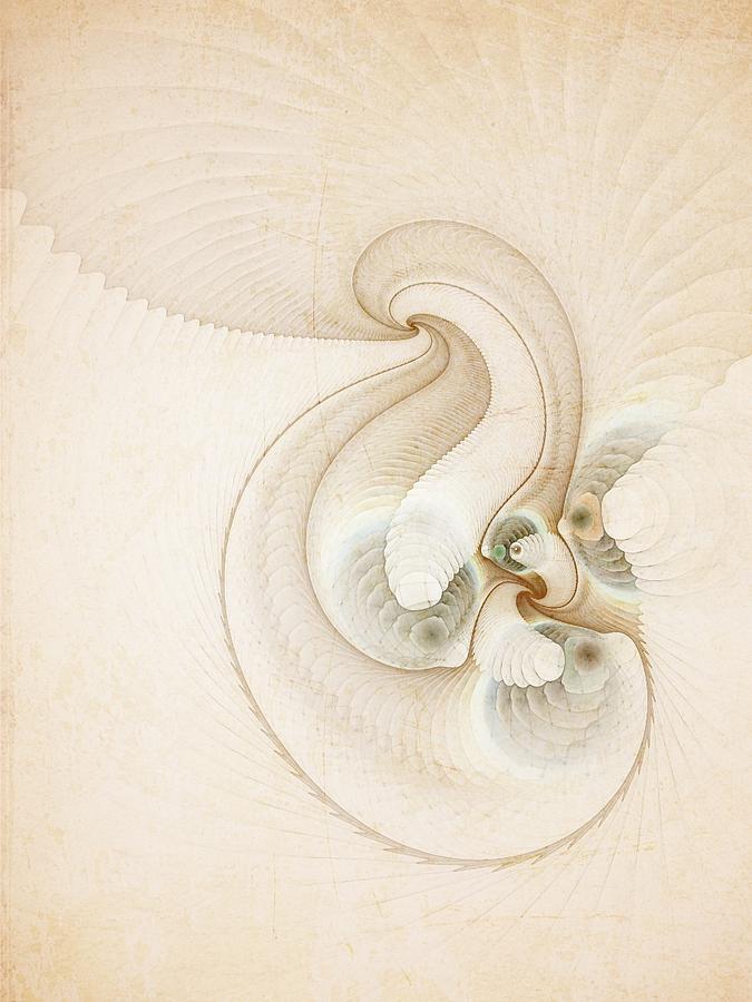 Smooth Digital Art - Peace by Talasan Nicholson