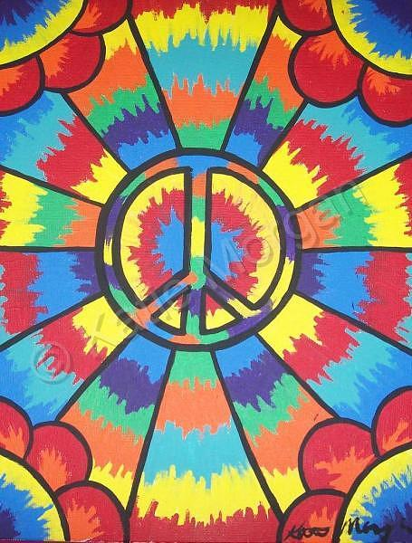 Peace Painting - Peace Trip by Katie Morgan