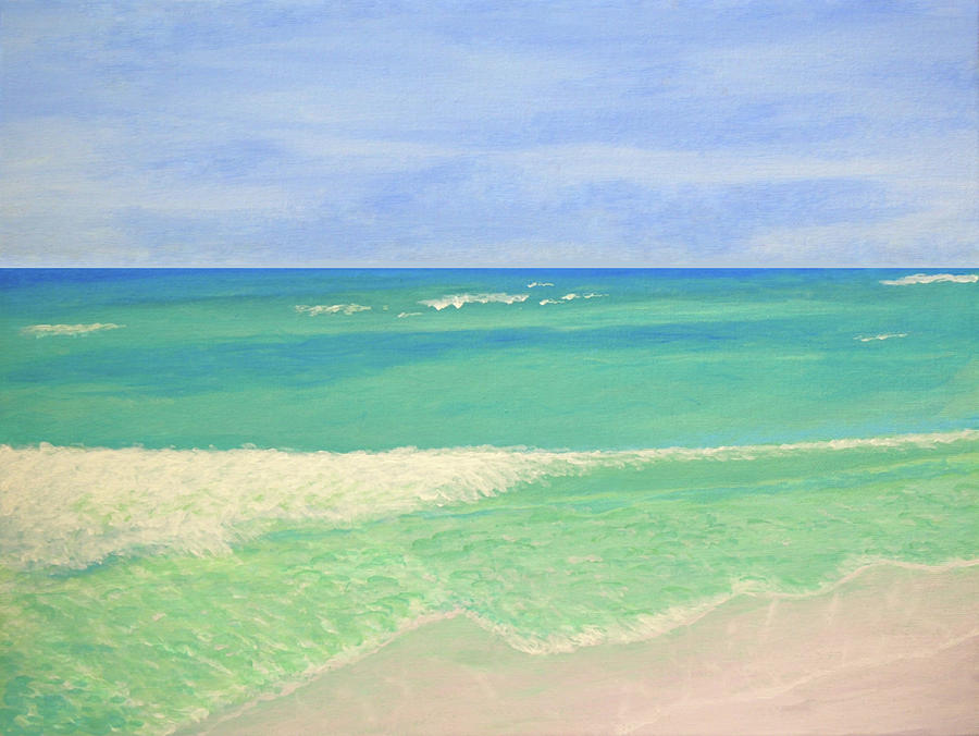 Peaceful Beach by Connie Spencer