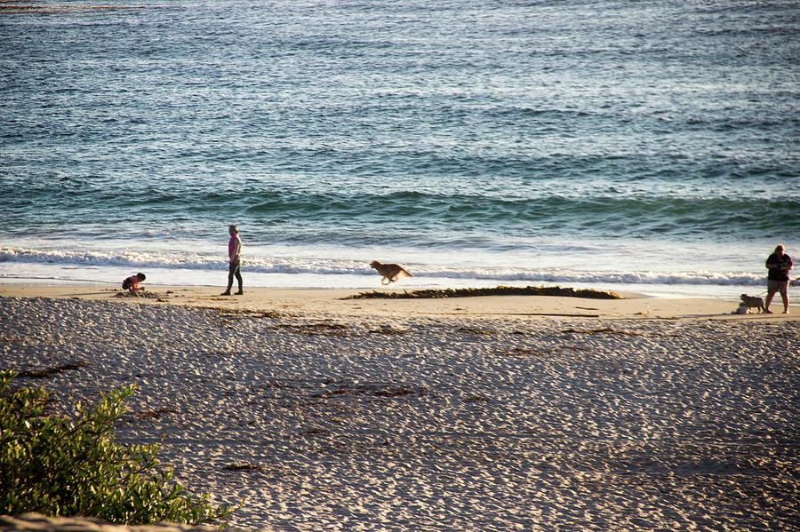 Peaceful Photograph - Peaceful Beaches by Raquel Caceres Melo