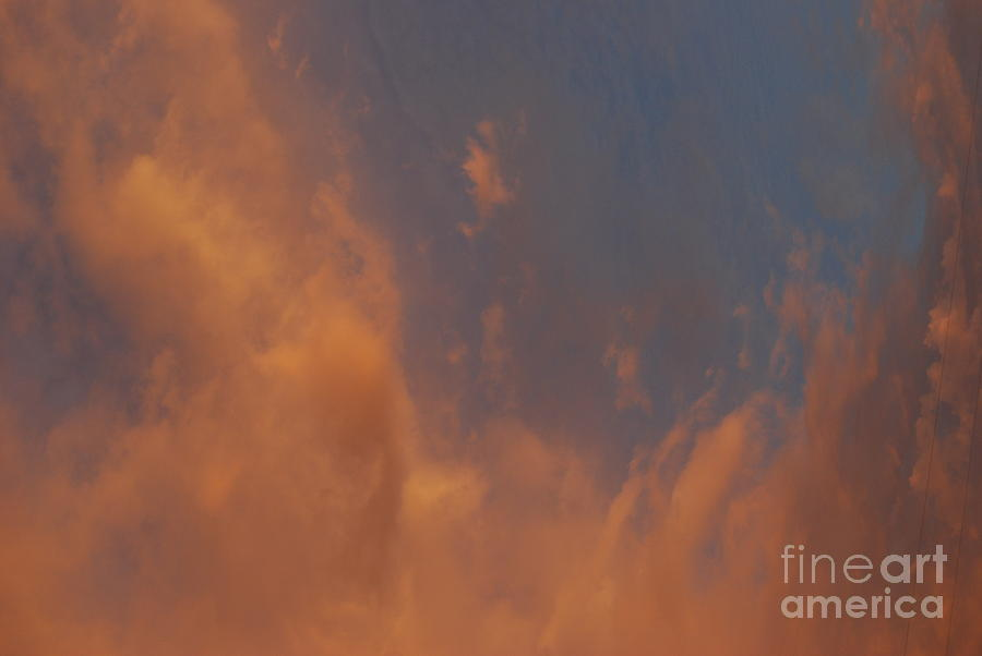 Skyscape Photograph - Peaceful  Dance In The Sand Storm by Sean-Michael Gettys