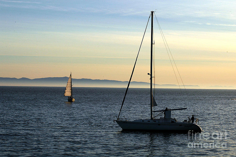Clay Photograph - Peaceful Day In Santa Barbara by Clayton Bruster