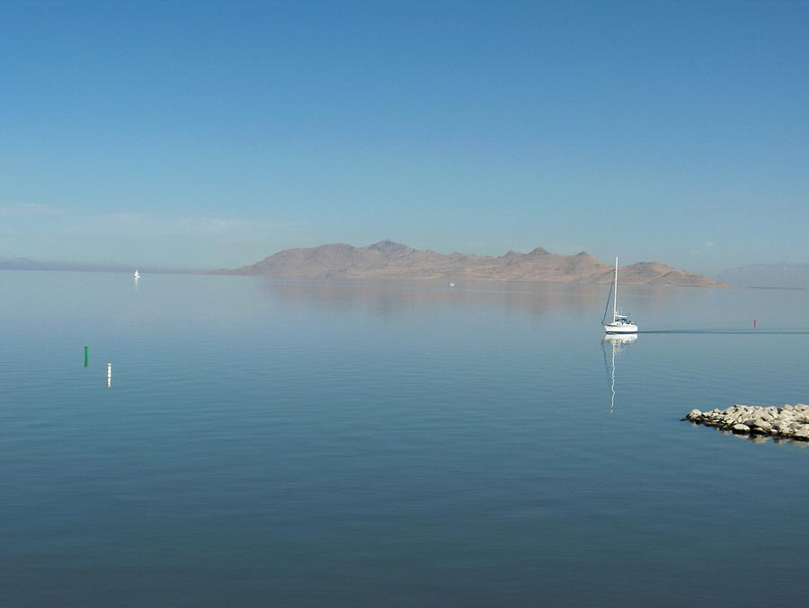 Landscape Photograph - Peaceful Existence by Janet  Hall