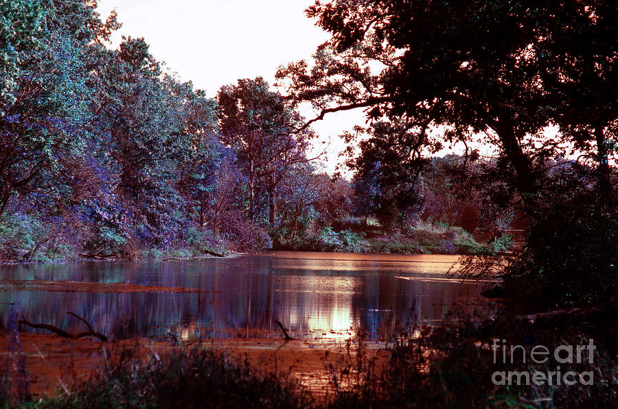 Infrared Photograph - Peaceful In Infrared No1 by Alan Look
