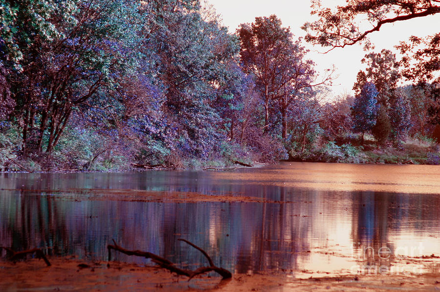 Infrared Photograph - Peaceful In Infrared No2 by Alan Look