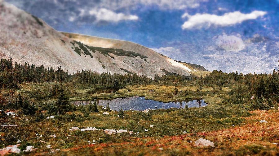 Mountains Photograph - Peaceful Meadow  by Garett Gabriel
