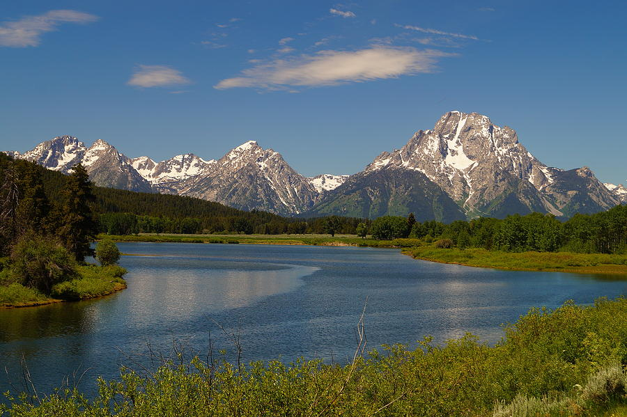 Grand Teton National Park Photograph - Peaceful Morning by Beth Collins