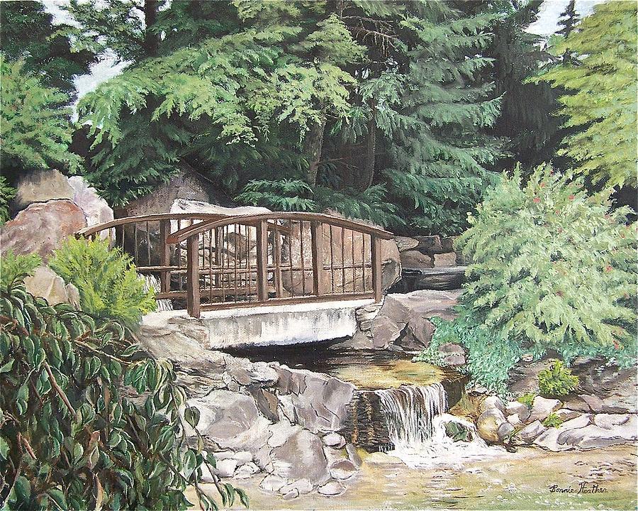 Landscape Painting - Peaceful Place by Bonnie Heather