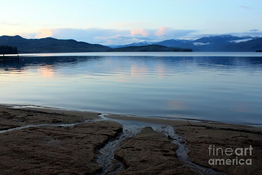 Beach Photograph - Peaceful Priest Lake by Carol Groenen