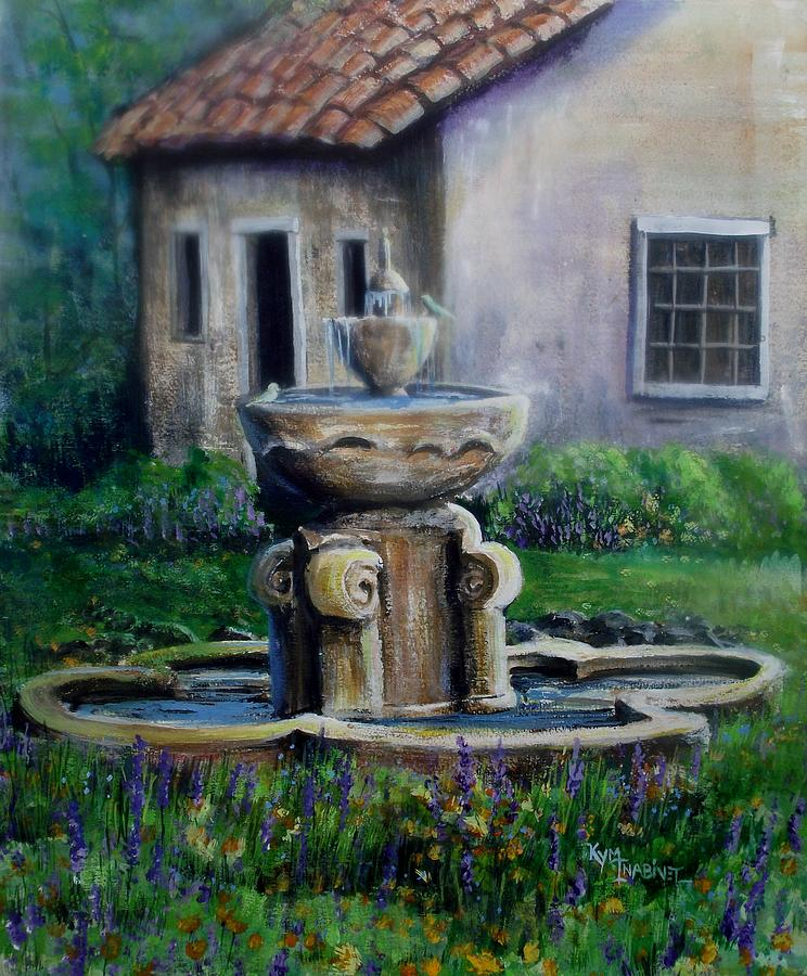 California Painting - Peaceful Retreat by Kym Inabinet