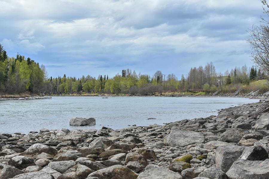 Kenai River Photograph - Peaceful River by Crewdson Photography