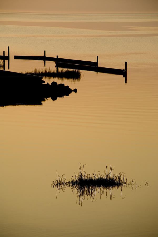 Avon Hatteras Island Photograph - Peaceful Silhouettes by Stephen St. John