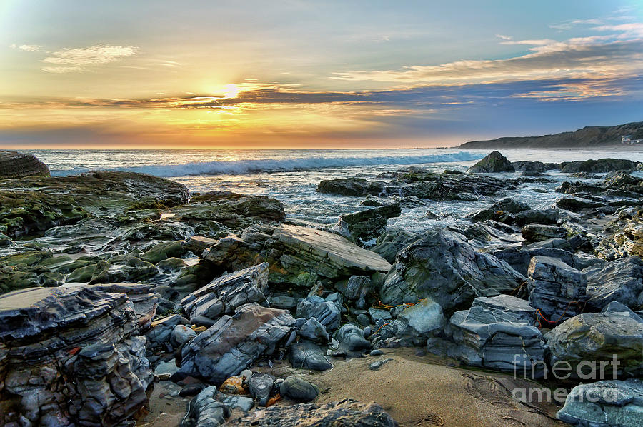 Peaceful Sunset At Crystal Cove Photograph
