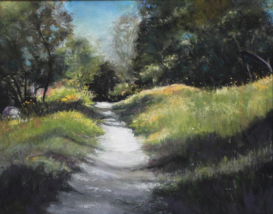 Peaceful Walk in The Foothills by Sandra Lee Scott