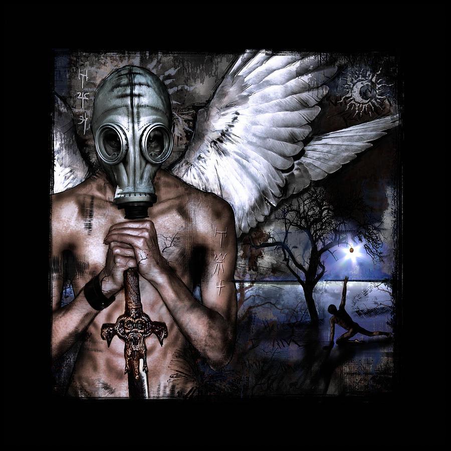 Fantasy Digital Art - Peacekeeper by Mandem